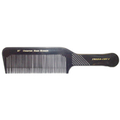 "Champion 9 1/2"" Flat Top Comb - Black"
