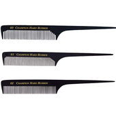 "Champion 8"" Rat Tail Comb - Black"
