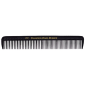 "Champion 7 1/2"" Assorted Teeth Styling Comb - Black"