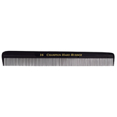 "Champion 8 1/2"" Equalizer Fine/Coarse Cutting Comb - Black"