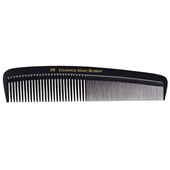 "Champion 8"" Fine/Coarse Teeth Marceling Comb - Black"