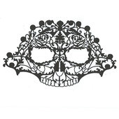 Face Lace Masks - Skullace