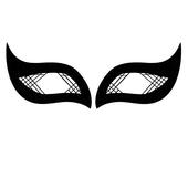Face Lace Eye Wings - Lattice Wings