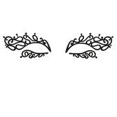 Face Lace Eye Lace Minis - Mini Swirlyqueue