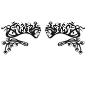 Face Lace Eye Lace Minis - Salome