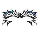 Face Lace - Batterfly