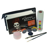 Kryolan Flaming Skull Kit