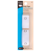 Dritz Snap Tape w/metal snaps - (size 4/0)