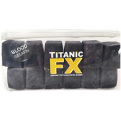 Titanic FX Prosthetic Gelatin 12 Cube - Blood