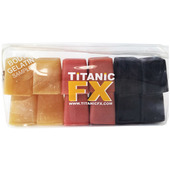 Titanic FX Prosthetic Gelatin 12 Cube - Body Sample Pack