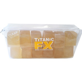 Titanic FX Prosthetic Gelatin 12 Cube - Clear
