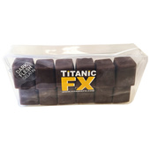 Titanic FX Prosthetic Gelatin 12 Cube - Dark Flesh Color
