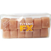 Titanic FX Prosthetic Gelatin 12 Cube - Light Flesh