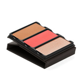 Viseart Theory II Blush, Bronzer & Highlighter Palette - Ablaze