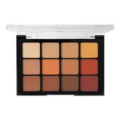 Viseart Palette 12 Paupieres Eyeshadow Palette 10 - Warm Mattes