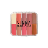 Senna Slipcover® Palette - Small Cheeky Blush: Matte & Glow 2