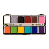 Wolfe FX Hydrocolor 12 Color Palette - Essentials