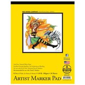 "Bee Paper Co.  Artist Marker Paper 8.5"" x 11"" - 30 Sheet Pad"