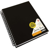 Pentalic Wirebound Heavyweight Sketch Book - 80 Sheets