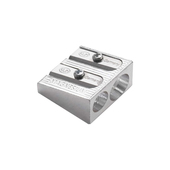 KUM 2-Hole Magnesium Pencil Sharpener