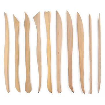 Royal Brush Potter's Select Mini Sculpting Tools - 10 ct