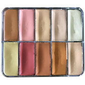 Sian Richards London Hydro-Proof Longwear Creme Pro Palette-Ether