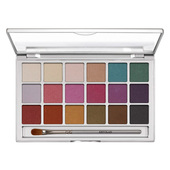 Kryolan Eye Shadow Variety 18 Color Palette - V4 (Interferenz)