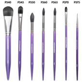 Cozzette Makeup Brushes - P Series
