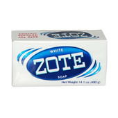 Zote Laundry Soap Bar - White