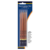 Pro Art Graphite Sketching Pencil Set - 4 ct