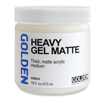 Golden Heavy Gel Matte - 8 fl oz