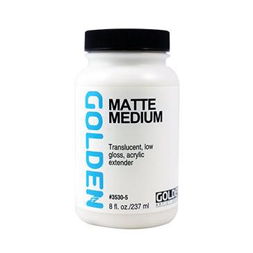 Golden Matte Medium - 8 fl oz