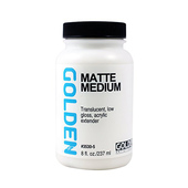 Golden Matte Medium - 8 fl oz