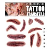 Mel Products Tattoo Transfers-Cut Set