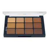 Ben Nye Studio Color Creme Palette - Olive-Brown MatteHD Foundation