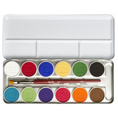 Ben Nye Magicake Aqua Color Palette - 12 Color Master