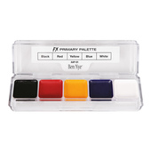 Ben Nye Alcohol Activated 5 Color FX Palette - Primary
