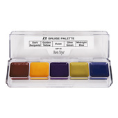 Ben Nye Alcohol Activated 5 Color FX Palette - Bruise