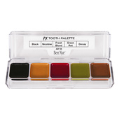 Ben Nye Alcohol Activated 5 Color FX Palette - Tooth
