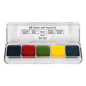 Ben Nye Alcohol Activated 5 Color FX Palette - Body Art