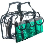 Monda Studio Set Bag - Clear/Green