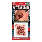 Tinsley 3D FX Transfers - Trypophobia w/Maggots