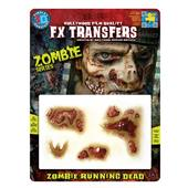 Tinsley 3D FX Transfers - Zombie Running Dead