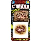 Tinsley 3D FX Transfers - Zombie Cheek Decay