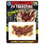 Tinsley 3D FX Transfers - Zombie Torn Throat