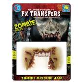 Tinsley 3D FX Transfers - Zombie Missing Jaw