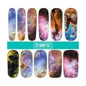 Espionage Cosmetics Nail Wraps - Eagle Nebula
