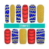 Espionage Cosmetics Nail Wraps - Wonder Gal