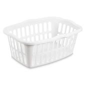 Sterilite Rectangular Laundry Basket-1.5 Bushel - White