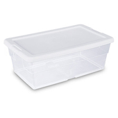 Sterilite Storage Box - 6 Qt.
